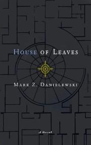 House of Leaves book cover by Mark Z Danielweski